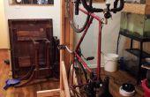 Verticale fietsenrek uit 2x4s (één fiets)