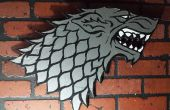 "Gij Ol Duct Tape wall mount voor uw troon kamer! ""Winter is Coming"""