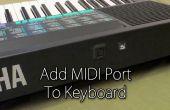 MIDI poort toevoegen aan toetsenbord