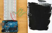Bouwen van een capacitieve Sensor van de nabijheid met blote Paint