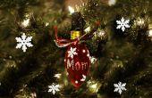 Gepersonaliseerde Ornament (uit een oude bol)