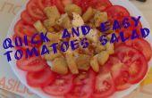 Snelle en gemakkelijke tomaten salade