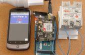 Betrouwbaar, veilig, aanpasbare SMS afstandsbediening (Arduino/pfodApp) - geen codering vereist