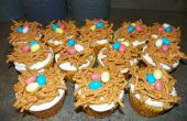 Vogel Nest Cupcakes