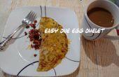 Eenvoudig één ei Omelet