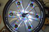 Fiets veiligheid steun Prototype: 3D dynamische wiel licht