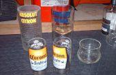 Snijden glazen flessen