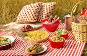 Hoe te slapen hebben een voedsel veilig picknick