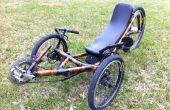 Bouwen van een ligfiets Trike Frame van bamboe