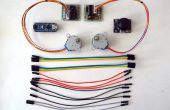 Arduino Nano en Visuino: 2 stappenmotoren met Joystick controle