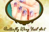 Vlinder Wing Nail Art Design