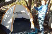Hoe te zetten van een koepel Tent