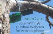 Maak een zonne-Wifi 3g Outdoor Camera Webcam van een oude Android telefoon!