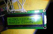 Display met behulp van de Arduino en Raspberry Pi weer