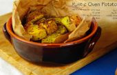 Zoete aardappel chips en rustieke oven geroosterde aardappelen (GF)