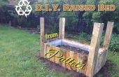 Verhoogd Bed Pallet Planter * bijgewerkt 21 augustus 2015 *