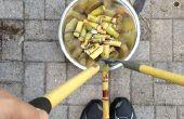 Eenvoudige, No-Crush suikerriet siroop