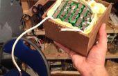 Grote Lithium-Ion batterij Pack gemaakt van gebruikte laptopbatterijen (190 + Watt uur)