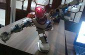 Maken van een lowcost humanoïde robot gemaakt van PVC waterleiding materiaal (upgrade)