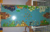 Super Mario Bros. 3 Bier Pong en Flip Cup tabel