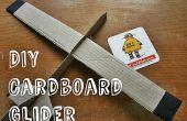 DIY karton zweefvliegtuig