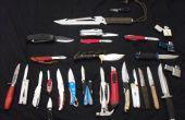 Hoe maak je een mes uit een oude bestand
