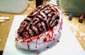 Halloween bloedige hersenen