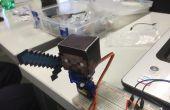 Arduino Steve - een Minecraft Animatronic