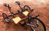 Gezellig ligfiets Trike