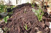 Hoe maak je een verhoogde flower garden uit een stapel oude beton & rotsen