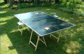 Hoe het bouwen van een Ping Pong tafel
