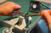 Recyclen oude onderdelen van de PCB