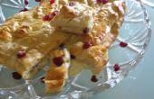Gemakkelijk gebakken Brie met gedroogde cranberries