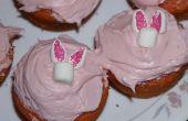 Hoe te maken Easter Bunny Cupcakes (van Marshmallows)