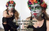 Klassieke kostuum idee: Suiker schedel Lady