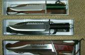 Hoe te maken van Knifes, omhulsels, zwepen, speren en nog veel veel meer mes