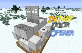 Minecraft: Instant deuropener