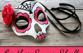 Suiker schedel masker