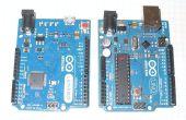 Maken van arduino uno werken als leonardo