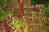Reuze duizendpoot PVC-10 voeten nachtmerrie brandstof