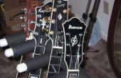 DIY pvc meerdere gitaar staan