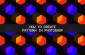 Photoshop patroon van vorm, tekst of png-bestand.