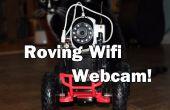 WiFi gecontroleerde zwervende Webcam!