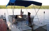Ongelooflijke Soda fles ponton boot