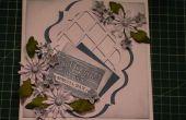 Hoe maak je een bloemen Daisy Delight ingelijst Lattice kaart