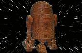R2D2 - Laser gesneden hout Model