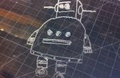 Etsen van de Instructables Robot