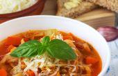 Hartige Italiaanse Minestrone soep