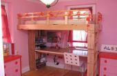 Hoe het bouwen van een kid's loft bed