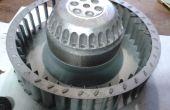 Ventilator reparatie voor condensor droger - AEG, Electrolux etc